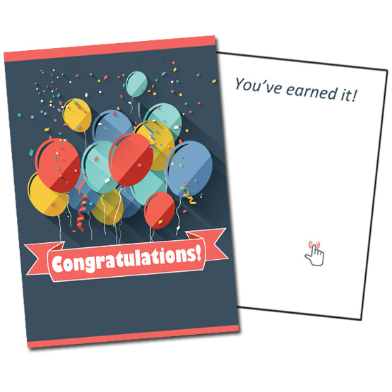 Musical Prank Congratulations Card
