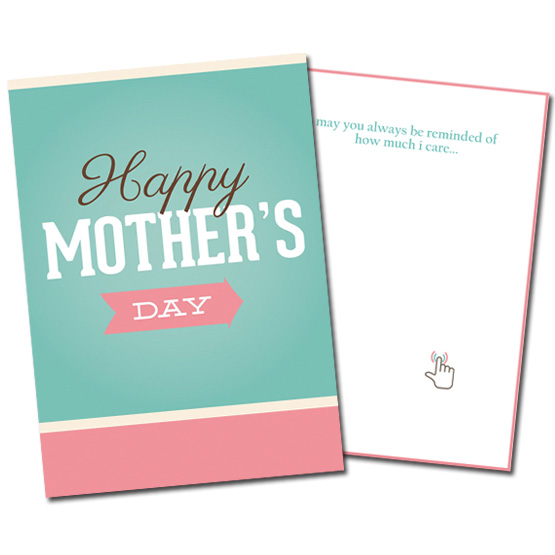 Musical Prank Mothers Day Card