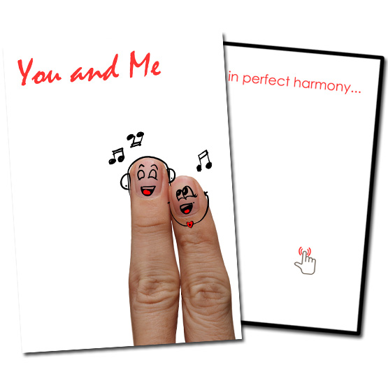 Musical Prank Romantic Card
