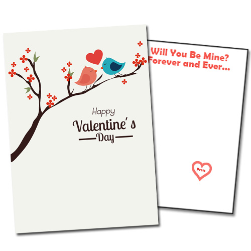 Singing Prank Valentine's Day Card